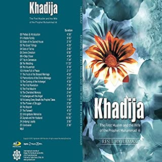 Khadija audiobook cover art