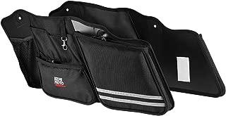 Street Glide Saddlebag Organizers, 2 Pack for 2014-2020 Road King Road Glide Electra Glide Saddle Bag Organizers