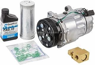 AC Compressor w/A/C Repair Kit For Volkswagen VW Jetta Golf Mk4 - BuyAutoParts 60-80109RK New