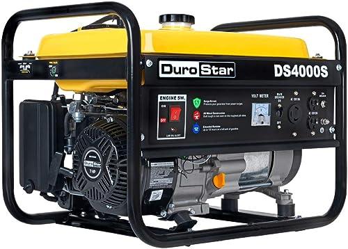 lowest Durostar online 4,000 discount Watt 7HP Gas Portable Generator 50-State (4 Unit Kit) outlet sale
