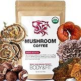 Tiger 5 Mushroom Coffee – Organic Superfood Mushroom Coffee with 100% Arabica,...
