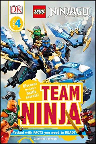 DK Readers L4: Lego Ninjago: Team Ninja: Discover the Ninja's Battle Secrets!