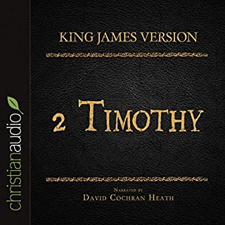 Holy Bible in Audio - King James Version: 2 Timothy cover art