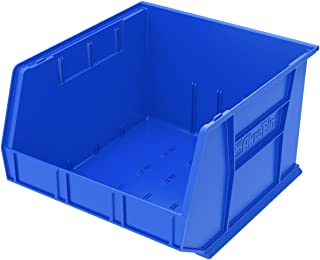 Akro-Mils 30270 Plastic Storage Stacking AkroBin, 18-Inch by 16-Inch by 11-Inch, Blue, Case of 3