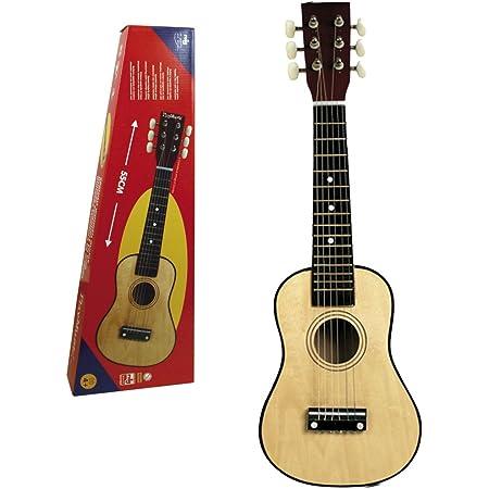 REIG- Guitare en Bois Jouet Enfant, 7060