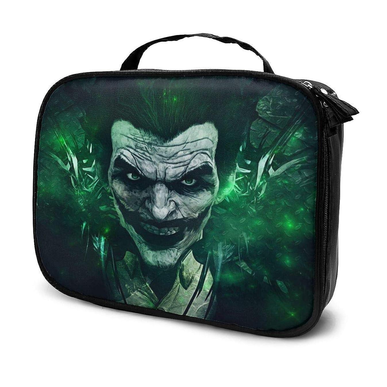 ブラウザ咳古風な化粧ポーチ Joker笑う 女性化粧品バッグ ビューティー メイク道具 フェイスケアツール 化粧ポーチメイクボックス ホーム、旅行、ショッピング、ショッピング