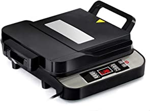 Draagbare elektrische kookmachine voor thuisgebrui Elektrische bakblik, elektrische koekenpan, Rookvrije thuis Double bakb...