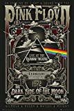 Close Up Pink Floyd Poster Live at The Rainbow Theatre,