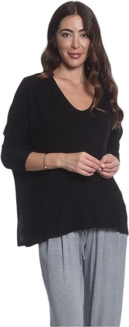 Rib Side Sweatshirt
