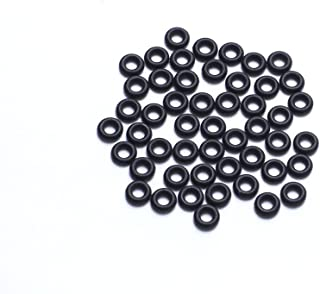 TYPHEERX 50pcs RC rubber ring washer is used For RC F3 F4 F7 flight controller M3 Damping pad (black)