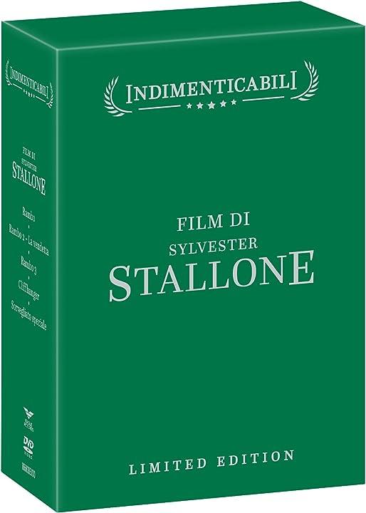 Sylvester stallone (box 5 dvd) B075XQ882J