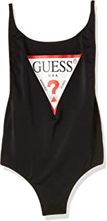 GUESS Womens One Piece Swimsuit