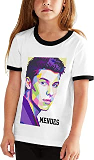 Lyric Singer Shawn Peter Raul Mendes Teen Shirt Short Sleeve T-Shirts Inspiration More Styles to Choose from