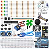 REES52 The Basic Starter kit for iduino with UNO R3, Breadboard, LED, Resistor,Jumper