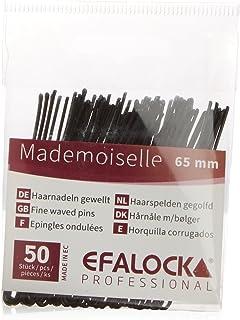 Efalock Professional Mademoiselle Haarnadel, 65 mm, schwarz,