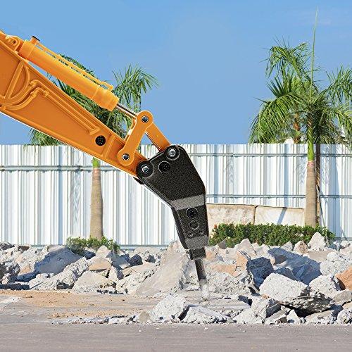 RC Baufahrzeug kaufen Baufahrzeug Bild 1: Top Race Metalldruckgussbagger Drill Traktor, Bau Spielzeugschlepper - Metallbohrer (TR-218D)*