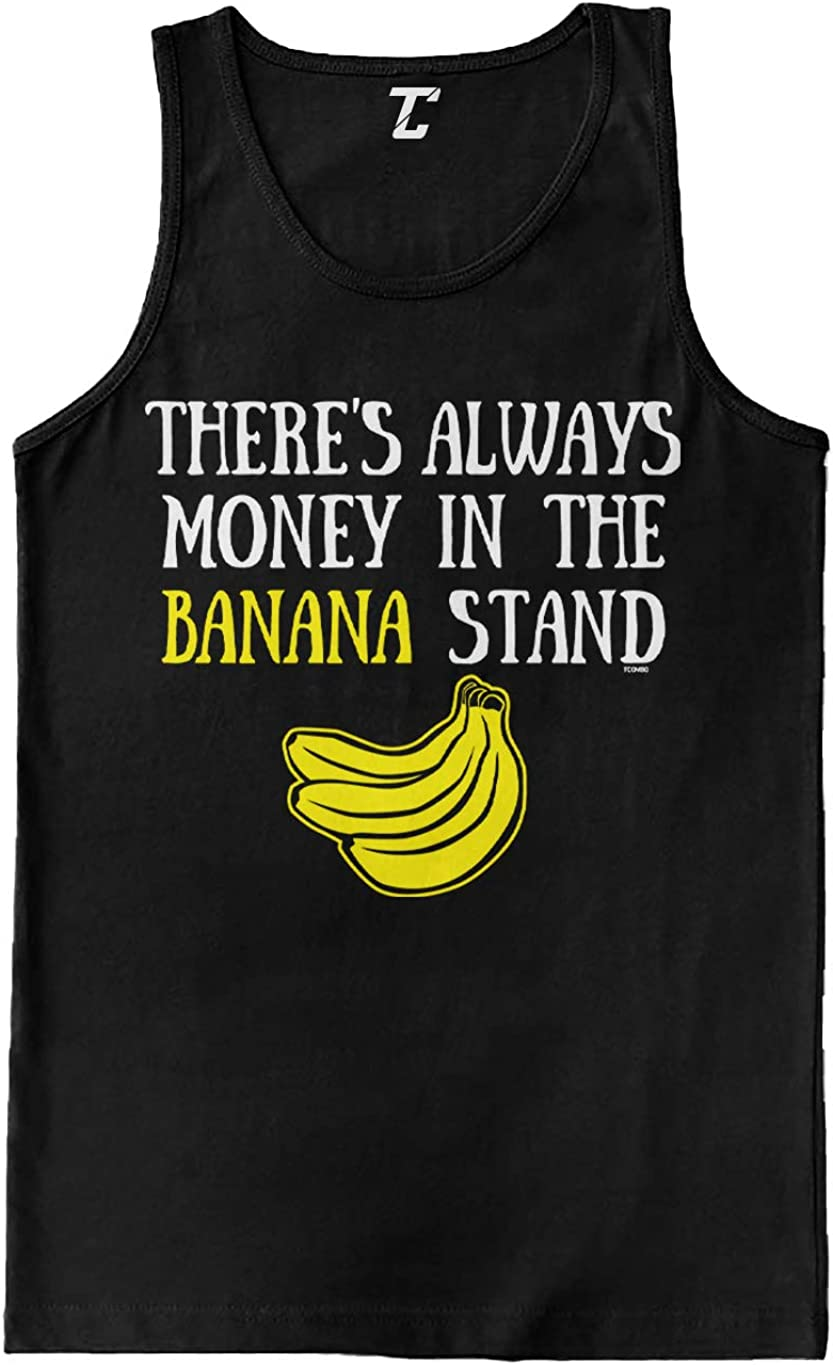 There's 55% OFF Always Money in The Topics on TV Men's Banana Tank Top Stand