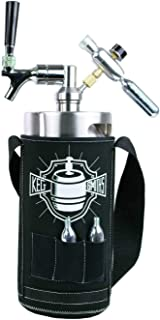 Keg Smiths Keg Kooler - 1 Gallon Keg Kooler Jacket - Keep your Keg Cold Longer