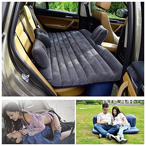 Reise in Auto Luftbett Gästebett Camping Auto Air einem Inflation Rücksitz Sofa Erweitert für gesehen und Limousinen und LKW Camping Universal