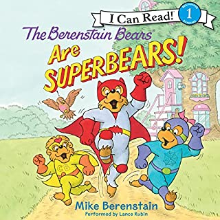 The Berenstain Bears Are SuperBears! cover art