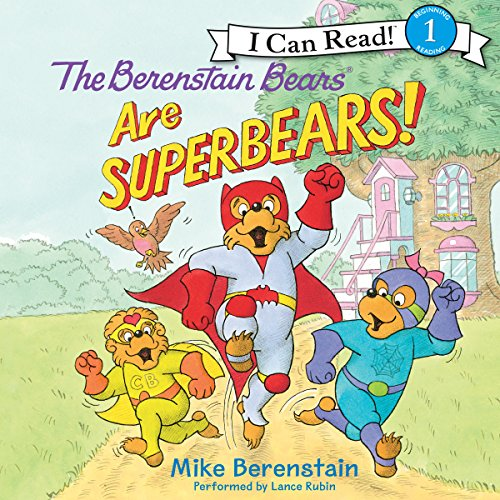 The Berenstain Bears Are SuperBears! audiobook cover art