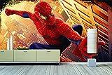 WandbilderXXL Vlies Fototapete 'Spiderman' 300x200cm - hochwertige Tapete in 6 verschiedenen Größen für Wohnzimmer oder Büro - Foto Tapete - Qualität von Wandbilder XXL