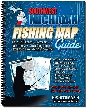 Southwestern Michigan Fishing Map Guide