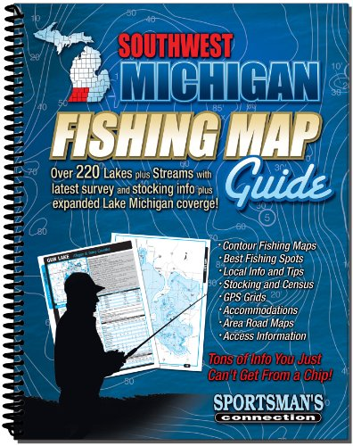 Southwestern Michigan Fishing Map Guide