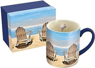 Lang 10995021121 14 OZ Ceramic Mug, Multicolor