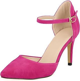 70cb5b3dc31a24 Amazon.fr : Escarpins Rose Fushia : Chaussures et Sacs