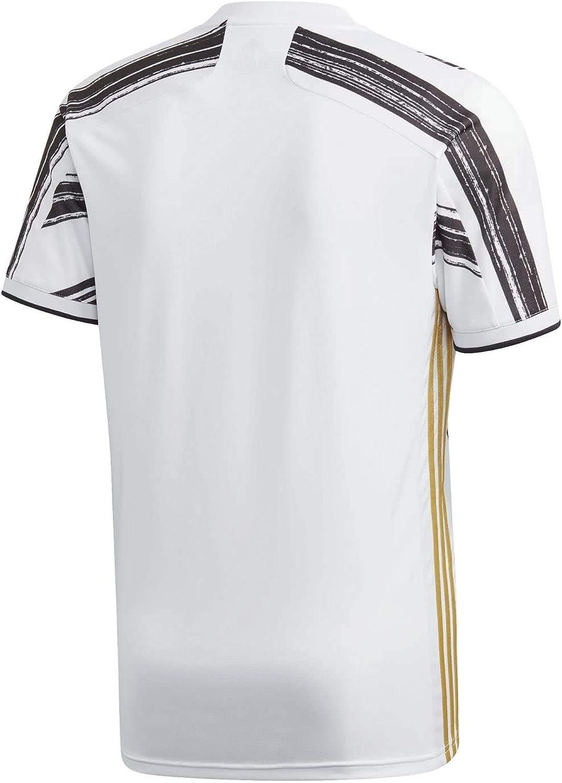 Amazon.com : adidas 2020-2021 Juventus Home Football Soccer T ...