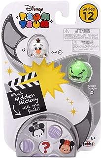 Tsum Tsum Disney Series 12 -Olaf/Oogie Boogie/Hidden Mickey