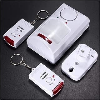 Mostbest Home Security System Indoor Outdoor Weather-Proof Siren Window Door Sensors Motion Sensor Alarm with Remote Control, Wireless Home Hotel Garage Shop Burglar Door Alarm System