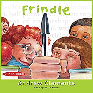 Frindle audiobook cover art