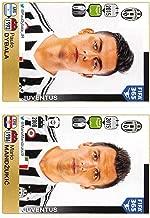 2015-16 Panini FIFA 365 Stickers Soccer #577-578 Paulo Dybala/Mario Mandzukic Trading Card Sized Album Sticker