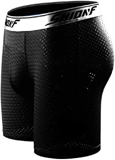 Men Underwear Ice Silk Mesh Shorts Breathable Flat Pants Boxer Briefs