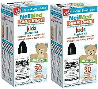 NeilMed Sinus Rinse Pediatric Starter Kit- 30 Packets (Pack of 2)