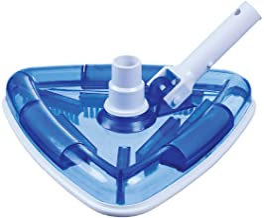 Milliard See-Thru Pool Vacuum Head/Triangular, Weighted Base/for Inground & Vinyl Pools