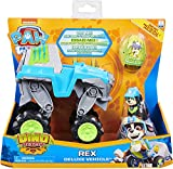 PAW PATROL - 6059329 - Children's Toy Game - Vehicle + Deluxe Rex Dino Rescue Figure