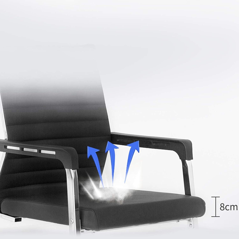 Yuansr Président de la Conférence Bureau Président Ordinateur Dossier Chaise Longue Chaise Réception et Ergonomique Chaise Accoudoirs Chaise Support Lombaire (Color : Beige) Beige