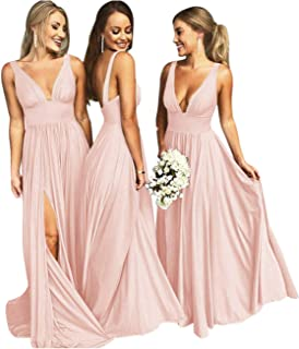 Best rose gold blush bridesmaid dresses Reviews