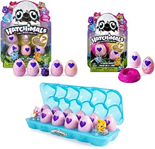 Hatchimals Colleggtibles Season 2 Gift Pack! ( Includes Egg Carton 12 Pack, 5 Pack, 2 Pack with Nest) Total of x19