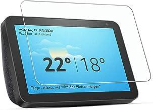 [2 Packs] Amazon Echo Show 8 Screen Protector, Amazon Echo Show 8 Tempered Glass Screen Protector, HD Clear Screen Guard f...