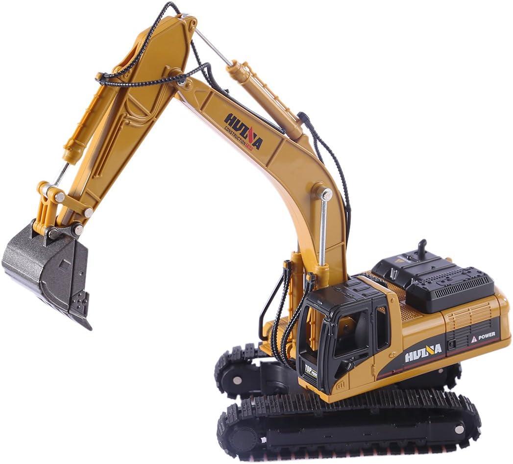 Deluxe HMANE 1:50 Excavator Model Alloy Engin Deluxe Toys HUINA1710