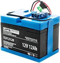 UPSBatteryCenter Replacement for Peg Perego New Holland T8 Toy Ride on Tractor 12 Volt Battery