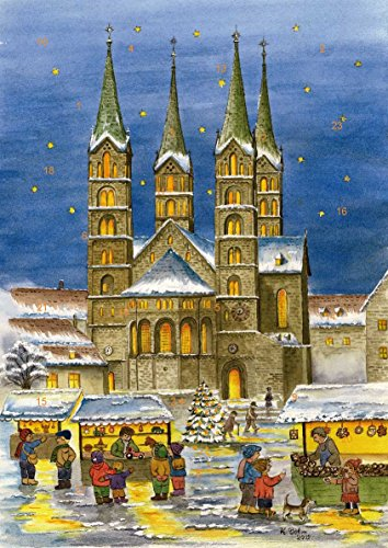 Adventskalender Bamberg - Weihnachtsstimmung vor dem Bamberger Dom