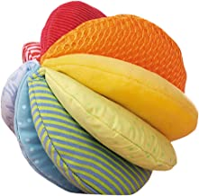 HABA Rainbow Fabric Ball - Machine Washable with 8 Different Sensory Affects