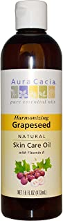 Aura Cacia Skin Care Oil Grapeseed 16 Fz