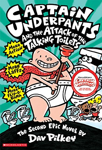 Captain Underpants and the Attack of the Talking Toilets New Jersey
