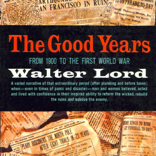 The Good Years audiobook cover art